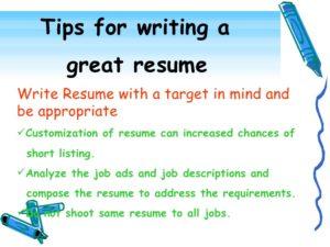 resume writing-1